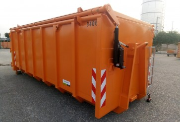 Roll-off container for green waste in Nürnberg