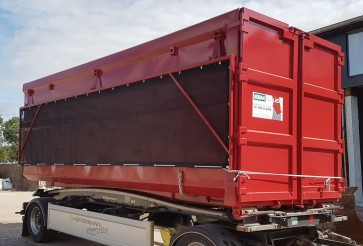Ultralight roll-off containers for the EBM Bauer company