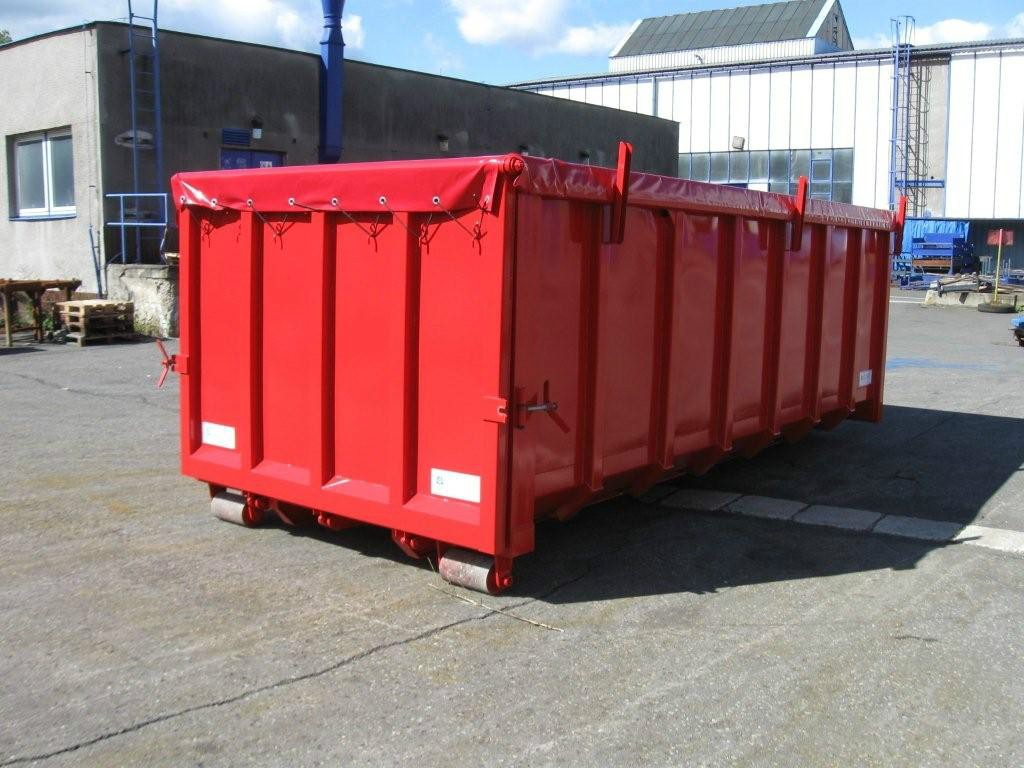 Roll off containers roof construction elkoplast for Construction container