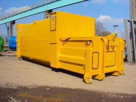 Mobile Press Containers for Dry Waste