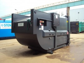 Mobile Press Containers for Wet Waste