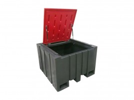 Container for contaminated packagings 1000 l