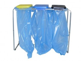 Waste Bag Stand 70-120 l Tubular